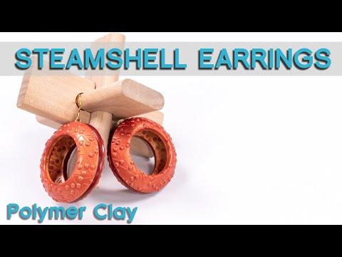 Steamshell earrings –