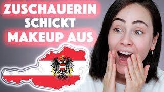 Zuschauerin schickt Makeup aus Österreich 🇦🇹 Full Face using Austria Makeup s.he | Hatice Schmidt
