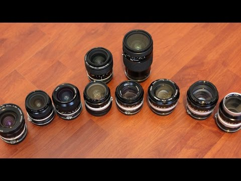Church Video: DSLR lenses and their uses | Tech, No Babel