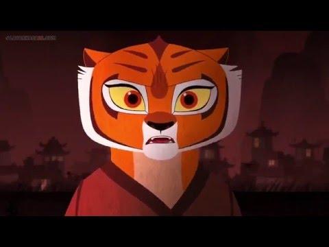 TIger vs BOAR (Kung Fu Panda Secrets of cut Sub Indo)