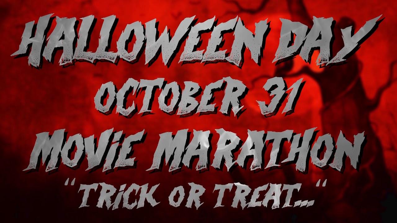 halloween movie marathon promo - youtube