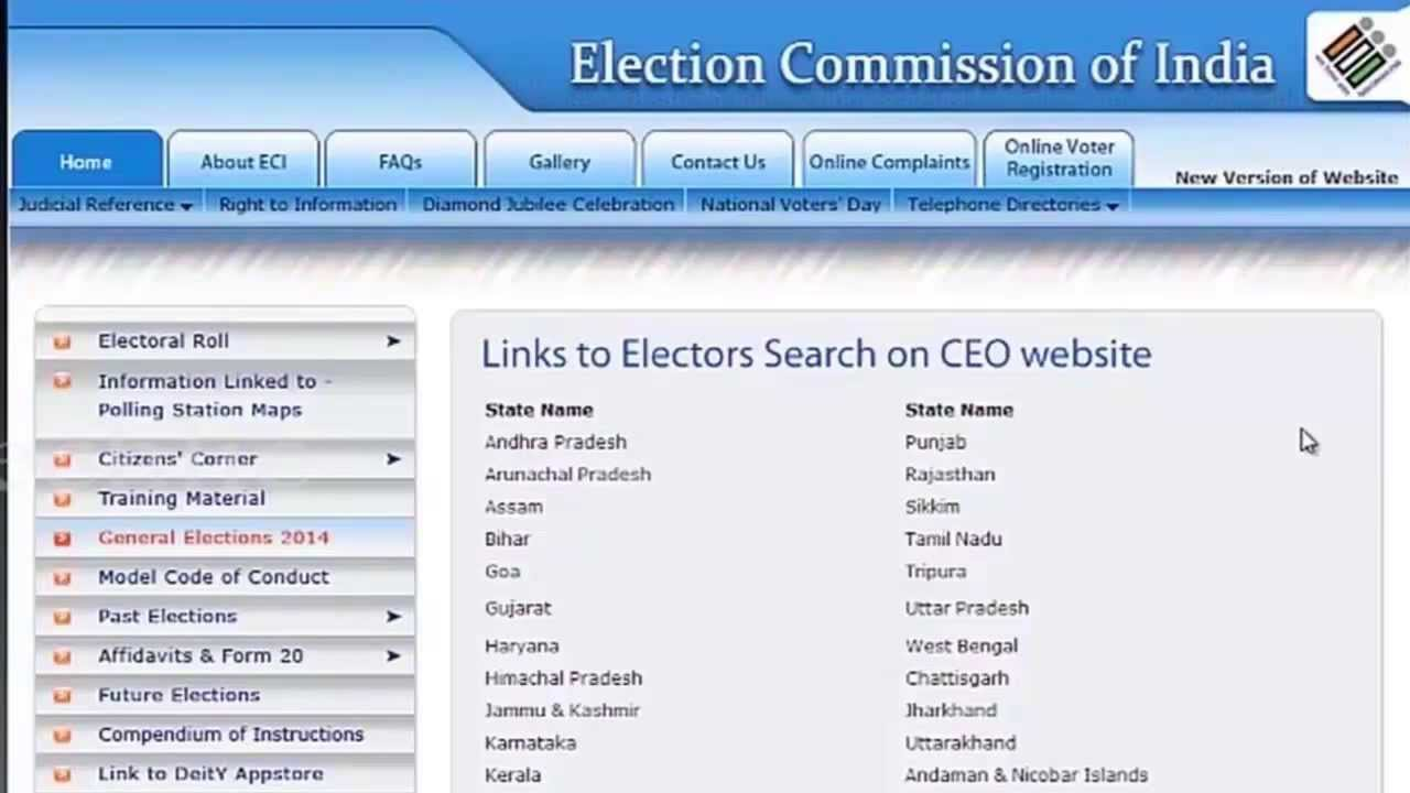 How to locate your polling station online