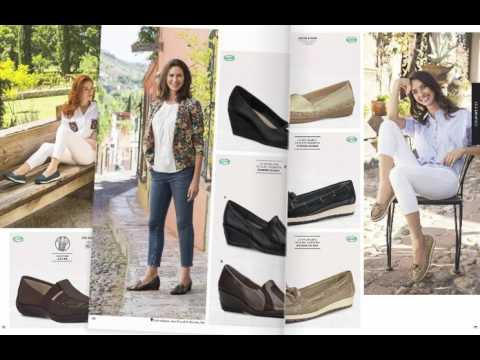 Zapatos Andrea Confort para Dama Primavera Verano 2017