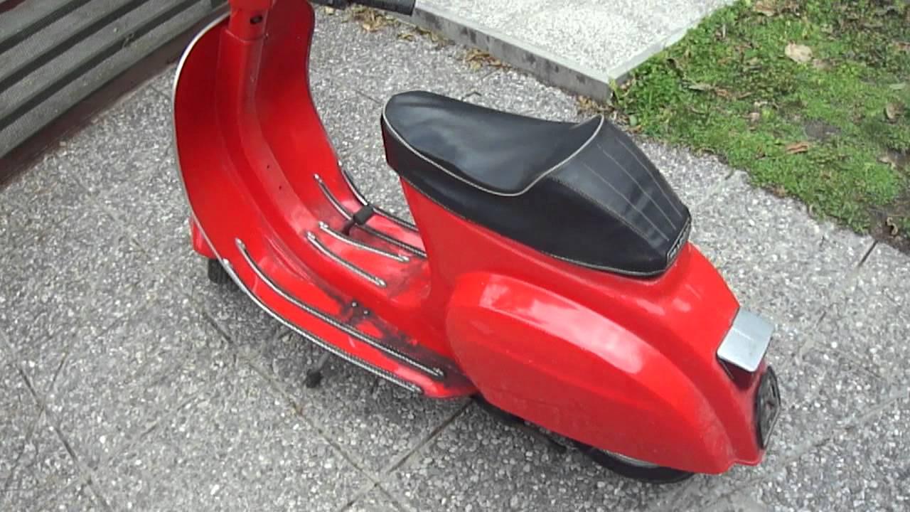 Vespa 50 Special 1970 Rossa Usata Funzionante Qualche Segno