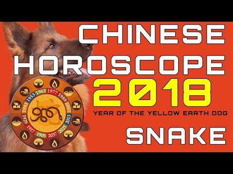Snake 2018 Chinese Horoscope Predictions