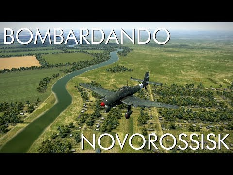 Bombardando Novorossisk