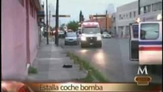 Coche Bomba Ciudad Juarez.