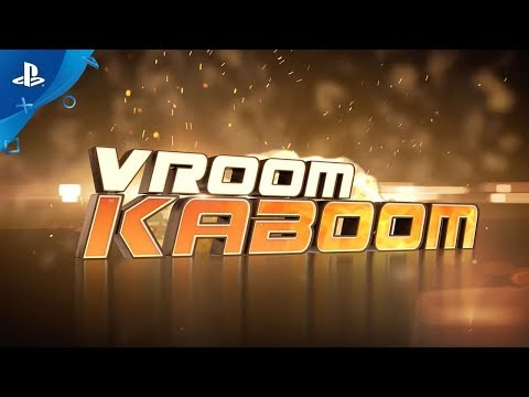 VROOM KABOOM - Launch Trailer | PS4