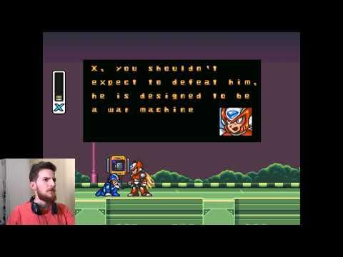 O melhor tutorial em um game que já vi! Megaman X (SNES) thumbnail