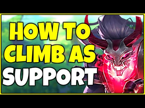 How to Climb and Carry as Support | Challenger Support Tips and Tricks - League of Legends