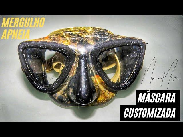 INICIANTES Máscara de Mergulho É O SEU PRINCIPAL EQUIPAMENTO DE MERGULHO EM APNEIA | FRONTEIRA SUB