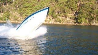 Fast Crazy Boat In Australia