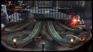 God Of War 3 : Бой с Цербером на уровне сложности Хаос_Chaos mode Fight with Cerberus
