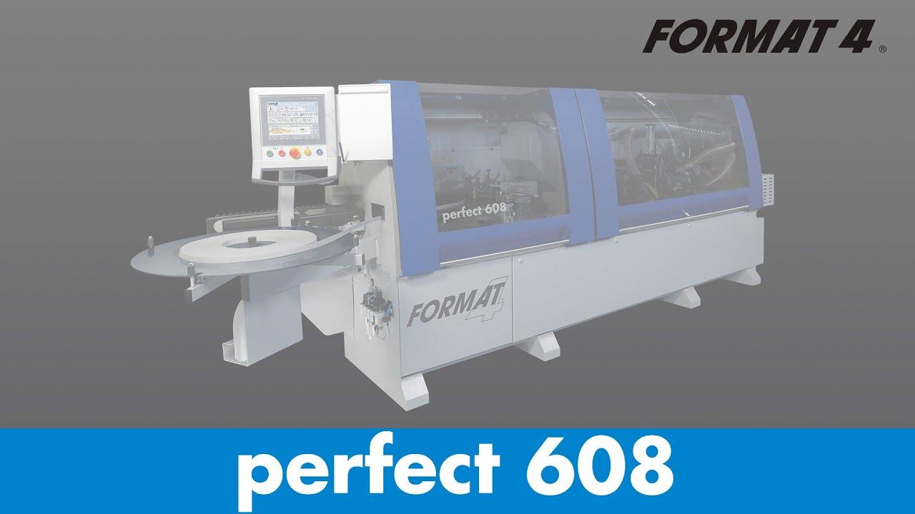 FORMAT-4® - perfect 608 - Edgebander