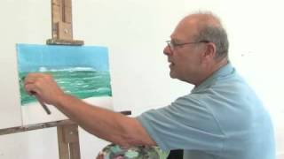 How to Paint the Ocean on Canvas