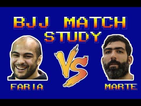 BJJ Match Study: Bernardo Faria vs Abraham Marte