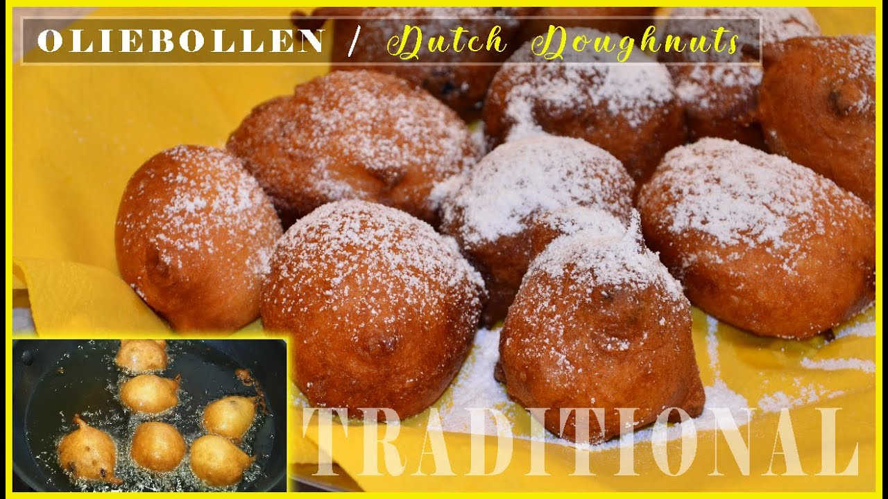 Dutch Oliebollen Recipe How To Make Dutch Doughnuts Super Marie Youtube