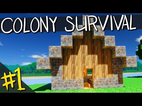 Colony Survival | PART 1 | BERRIES, STONES, AND HUMBLE HOMES