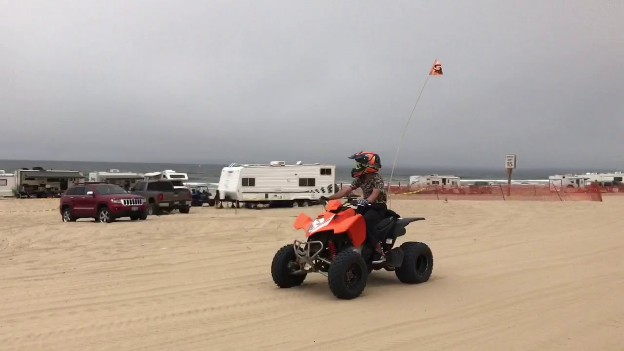Camping On Pismo Beach