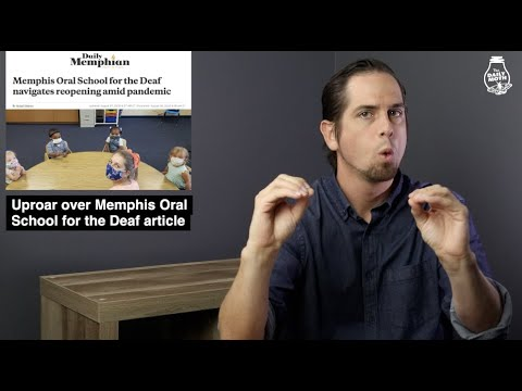 Uproar over Memphis Oral School for the Deaf article