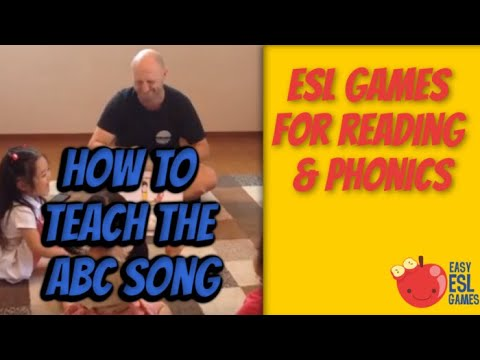 ABC Song with Alphabet Sounds  - How to use LEEP Cards