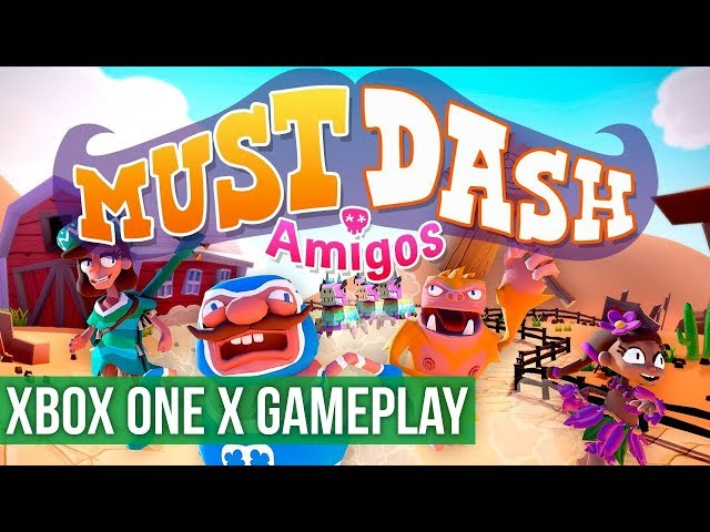 Must Dash Amigos ► Xbox One X Gameplay / Preview