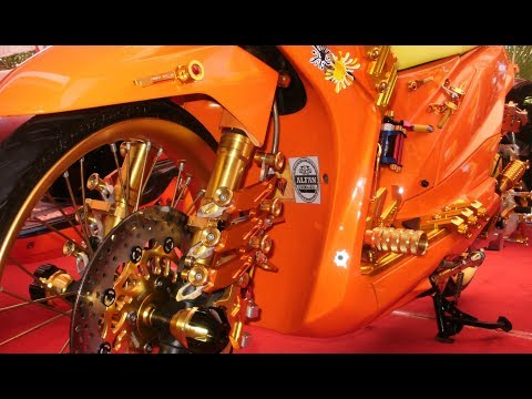 Modif Motor Beat Full Aksesoris Thailand Look Style