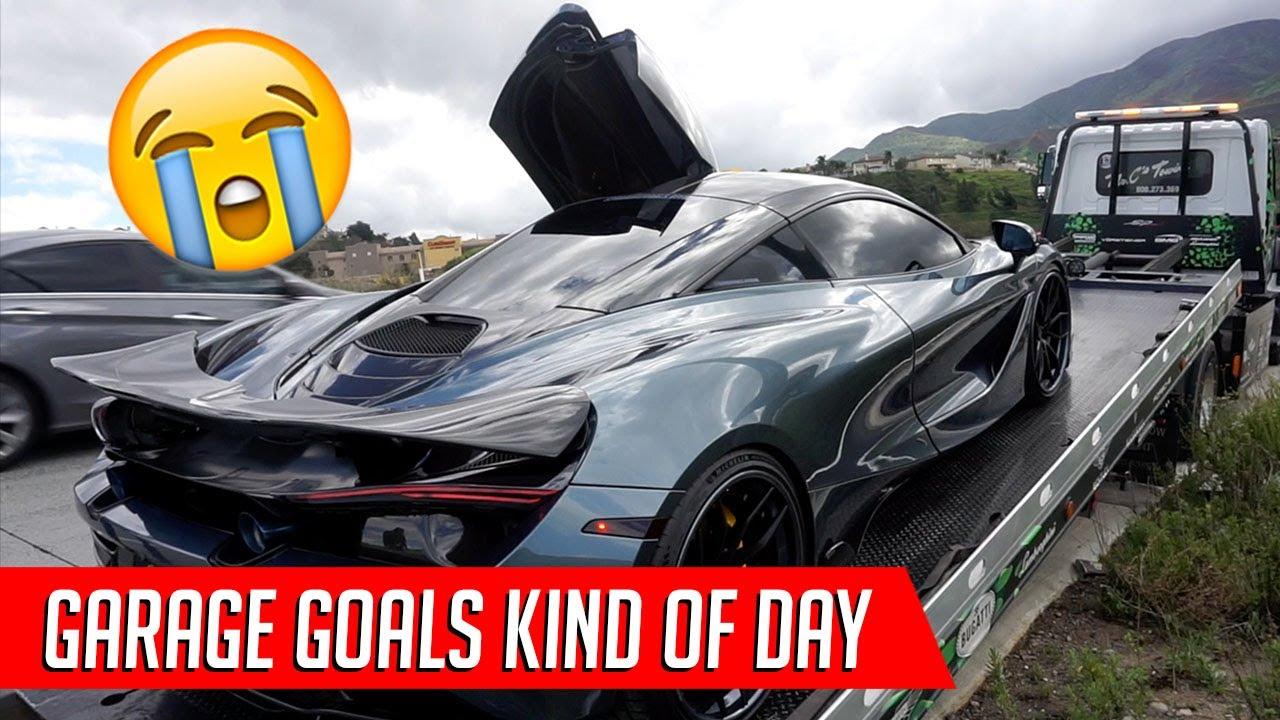 Garage Goals Mclaren 720s Dies On The Fwy Youtube