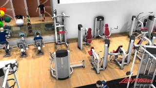 Life fitness have put together a 3d indicative design of the new gym at pavilion leisure centre. due to open autumn 2011