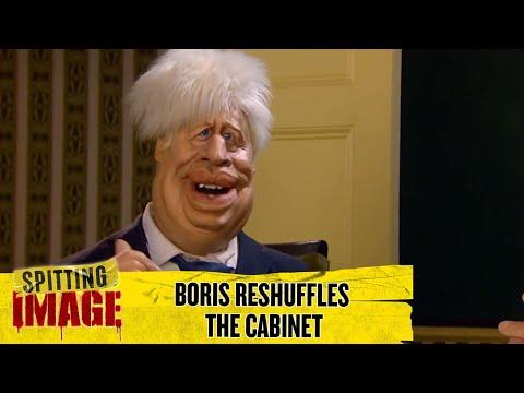 Boris Johnson Reshuffles The Cabinet | Spitting Image