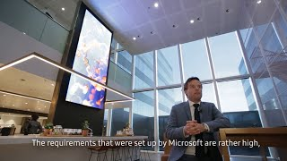 [Case Study] Microsoft Netherlands empowered to achieve more with Samsung