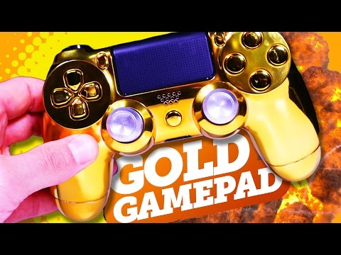 HOW TO MAKE YOUR PS4/XBOX ONE CONTROLLER GOLD!
