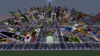 I gave 300 Minecraft Players one plot each to build a city