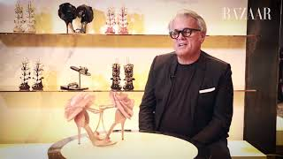 Famous Faces Episode 15: Giuseppe Zanotti On His Dhs416,000 Creation | Harper