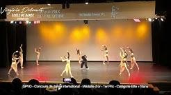 Concours de danse international - Grand Prix du Val d'Oise GPVO - Médaille d'or - catégorie Elite