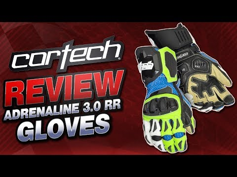 Cortech Adrenaline 3.0 RR Gloves Review | Sportbike Track Gear