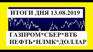 ОБЗОР РЫНКОВ  за день 13 08 2019