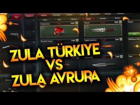 ZULA TÜRKİYE VS ZULA AVRUPA !!