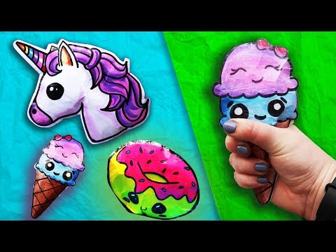 DIY PAPER SQUISHY ! How to make a SQUISHY WITHOUT FOAM | DIY Antistress Toys