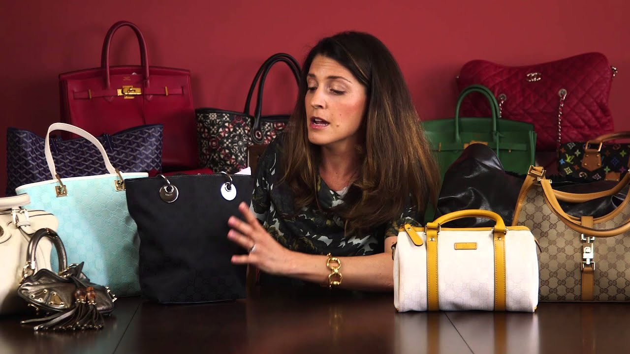 ec7ae16664c How to Spot a Fake Gucci Bag  Part 2 - YouTube