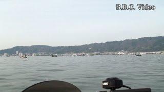 2013/04/20 田中次男 バス職人のネコリグテク Part2 下物沖に異常な大船団