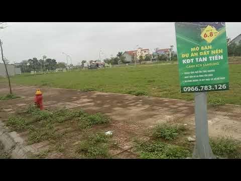 Đầu tư Đất Nền sổ Đỏ KDC Tân Tiến – Phổ Yên – Thái Nguyên . Vị trí đẹp, Tiềm năng Đầu tư Tốt