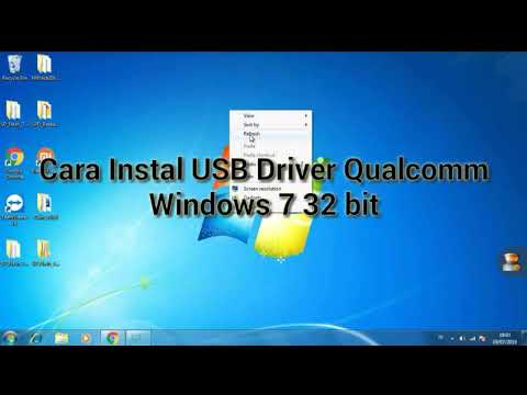 Cara Instal USB Driver Qualcomm Windows 7 32 Bit