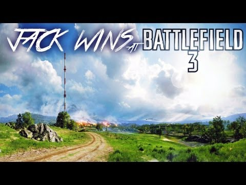 Jack Wins at Battlefield 3   JACK ATTACK   Caspian Border Gameplay/Commentary  