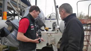 simrad go7 and rs35 rib install