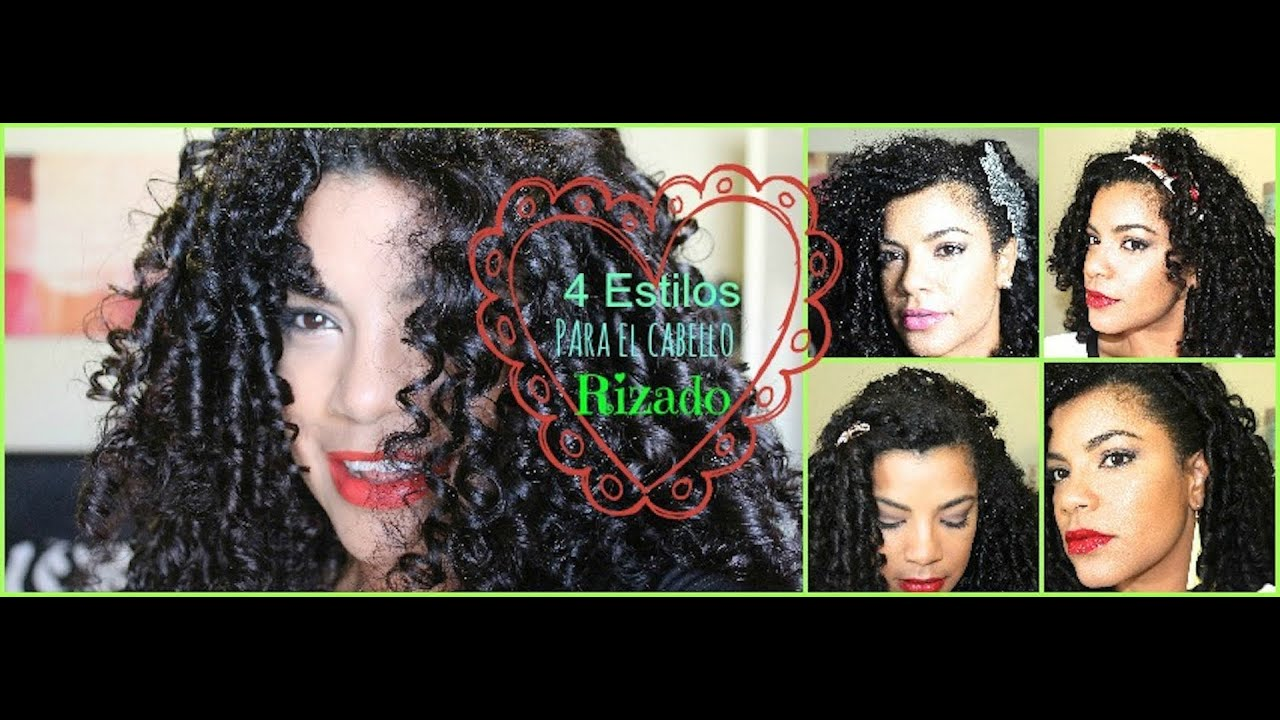 Como Hacer Peinados Con Pelo Rizado Largo Cortes De Pelo
