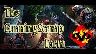 ESO   Elder Scroll's Online (Cunning Scamp Farm) - Tel Var Stones Fast