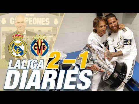 Real Madrid 2-1 Villarreal | LaLiga CHAMPIONS 2019/20!