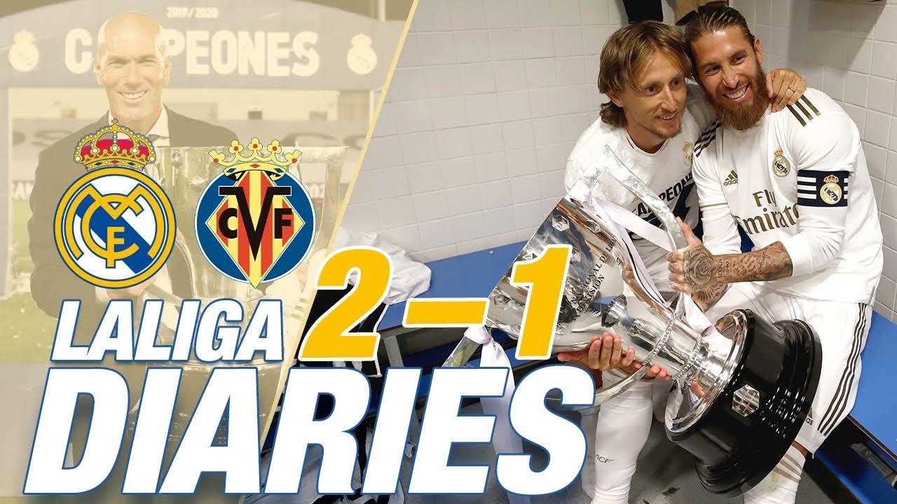 Download Real Madrid 2-1 Villarreal | LaLiga CHAMPIONS 2019/20!