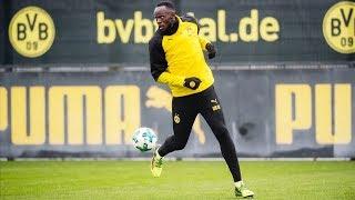 Usain Bolt's Full Training Session with Borussia Dortmund! | #BVBolt